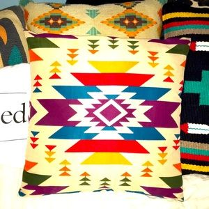 •Boho Aztec Pillow•